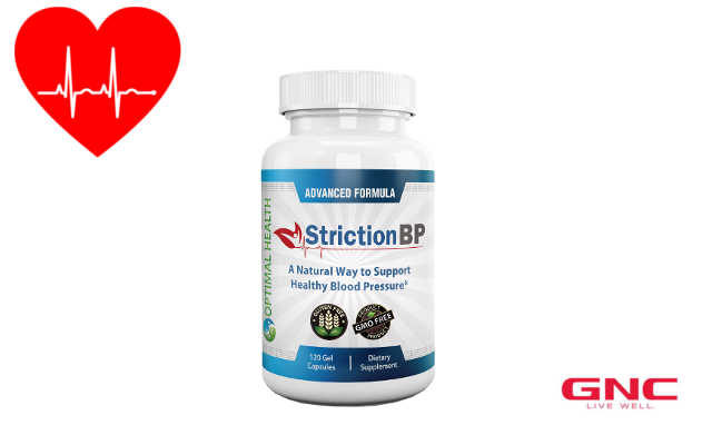 Striction BP: GNC's Best New Heart Health Supplement