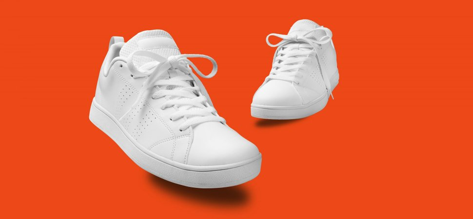 How to Wear White Sneakers to the Office